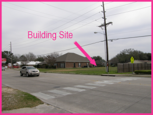 Paradiddle's Building Site in South Lake Charles