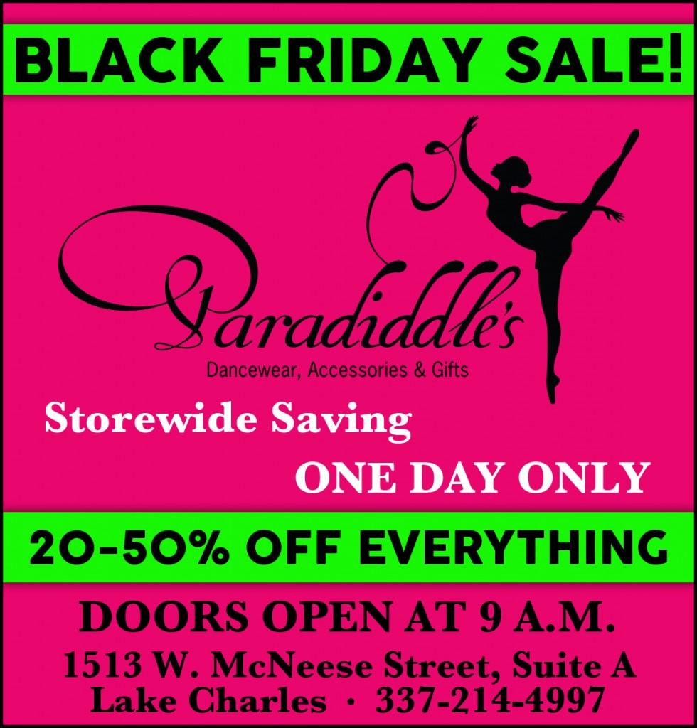 Paradiddles Black Friday 2014